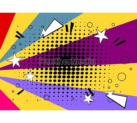 cartoon design farvet baggrund
