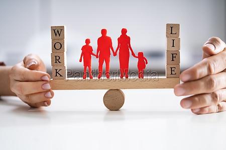 beskyttelse, af, balancen, mellem, arbejde, og - 28695418
