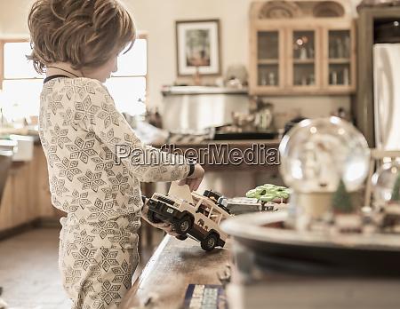 4 arig dreng ifort pyjamas leger