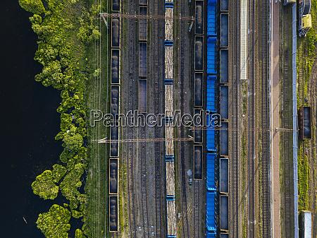 rusland leningrad oblast tikhvin luftfoto af