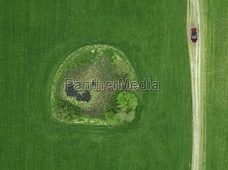 rusland moskva oblast luftfoto af bil