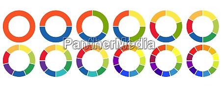 samling af grafikprocesgrafik i infoprocessen