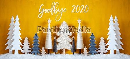 banner af juletraeer med engelsk kalligrafi