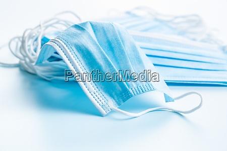 blat papir ansigtsmasker corona virusbeskyttelse