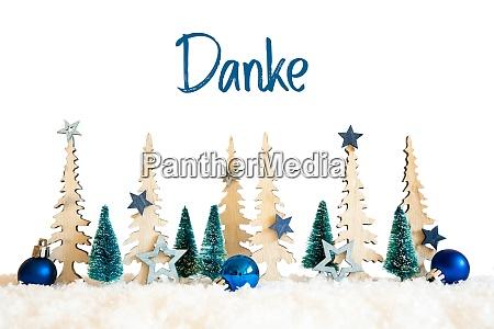 juletrae sne bla stjerne bold danke