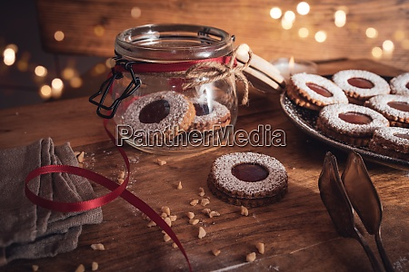 julen stadig liv med marmelade cookies