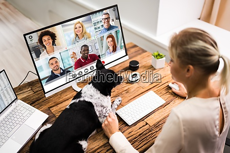 online, videokonferenceopkald - 28944695