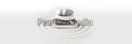 zen, japansk, have, baggrund., vandret, banner - 29015731