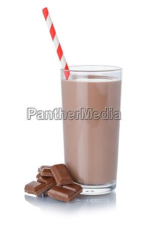chocolate, milk, shake, milkshake, in, a - 29035699
