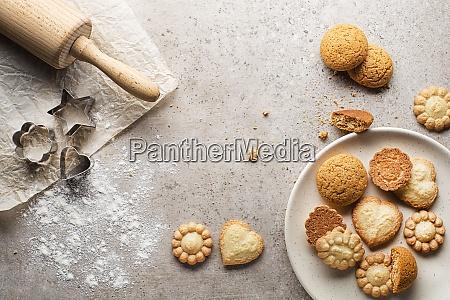 cookies sukker
