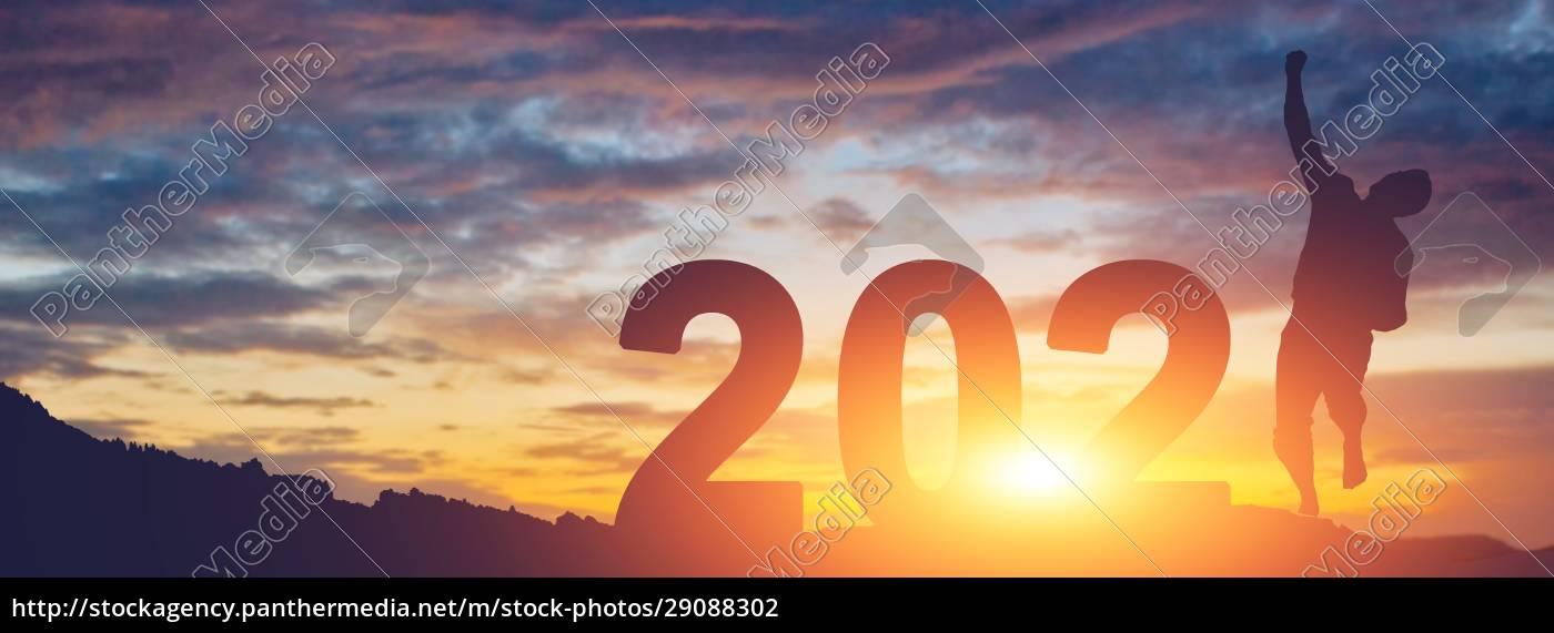 godt, nytår, baggrund., start, i, 2021 - 29088302