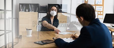 business job interview ifort ansigtsmaske