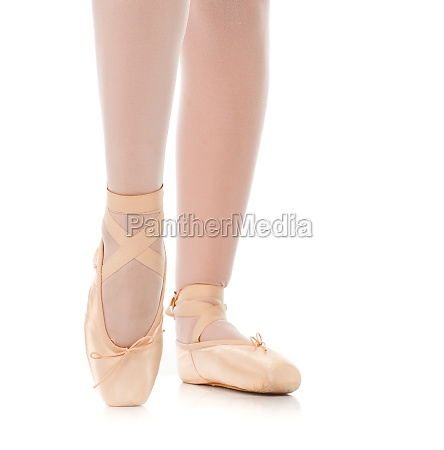 detail, of, ballet, dancer's, feet - 29644760