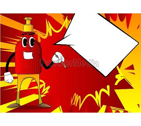 artist, bottle, of, hand, sanitizer, painting. - 29717297