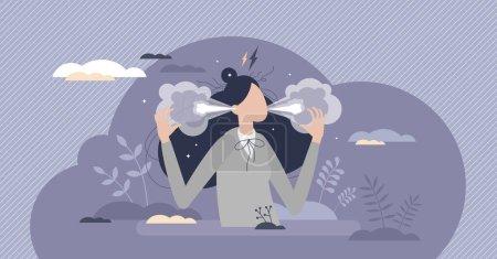 vector illustration person female adult scene